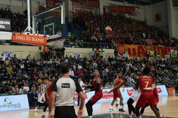 Büyükşehir Galatasaray'a mağlup oldu