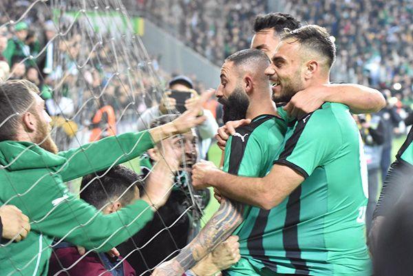 Sakaryaspor-Samsunspor 2-2. MAÇ ÖZETİ!