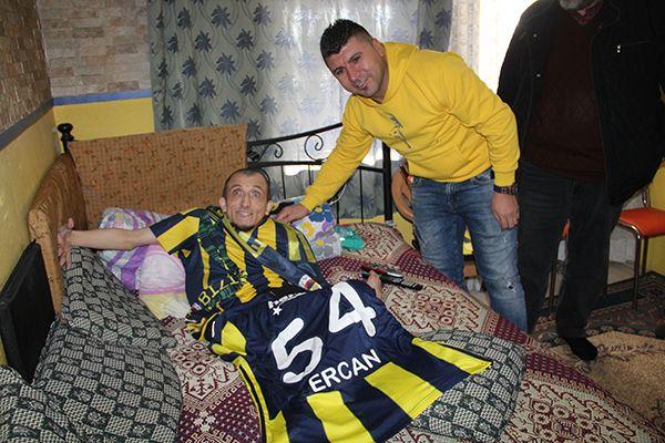 Engelli Taştekin'in Fenerbahçe bayrağı talebi gerçek oldu