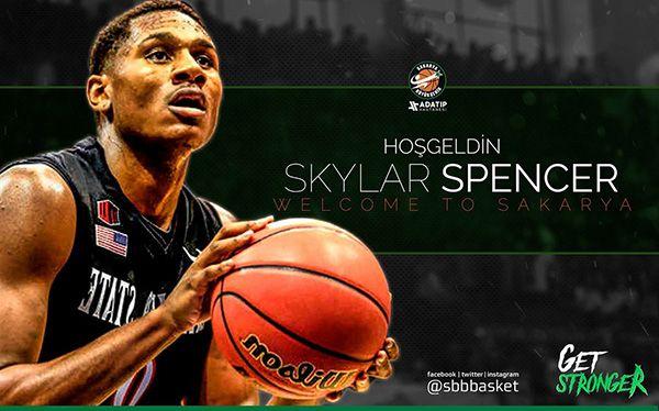 Skylar Spencer Büyükşehir Basketbol'da