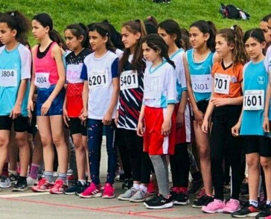"""Taşkısığı Ortaokulu """"Bölge'denTürkiye'ye"""" koştu"""