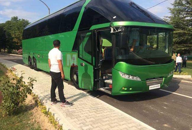 Sakaryaspor otobüsle Samsun yolunda...
