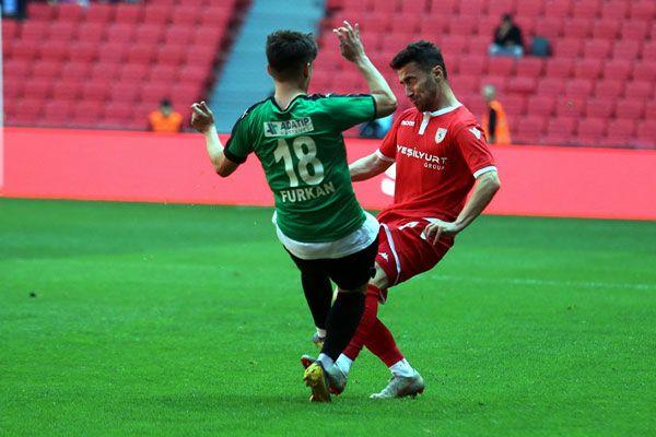 Samsunspor-Sakaryaspor maçının özeti: 3-0