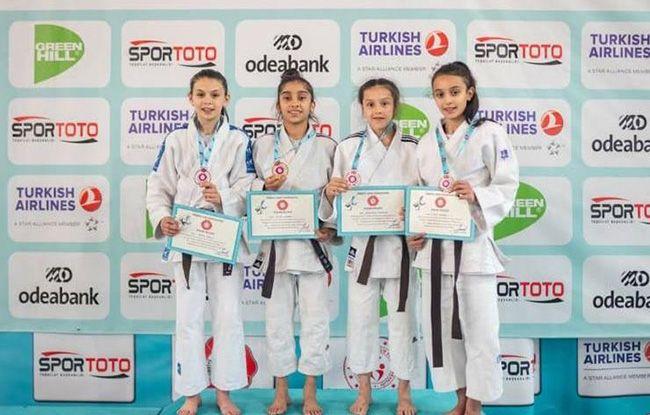 Judoculardan 4 madalya