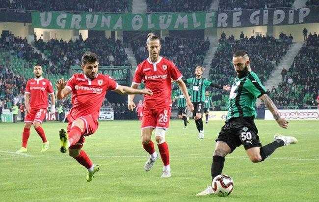 Samsunspor maçının hasılatı belli oldu