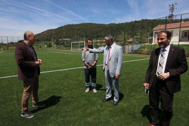Spor İl Müdürü Arif Özsoy, Güney ilçeleri gezdi