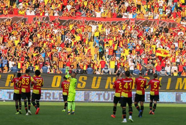 Göztepe'den Sakaryaspor'a başarılar mesajı