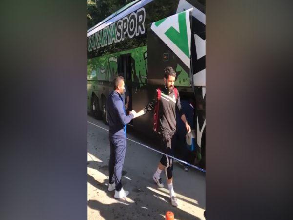 Bodrum'da maç havası! Yeşil-siyahlılar otelden ayrılıp stada geçti