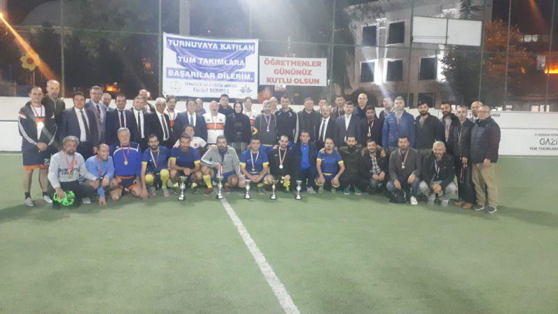 Öğretmenler günü turnuvasının şampiyonu belli oldu
