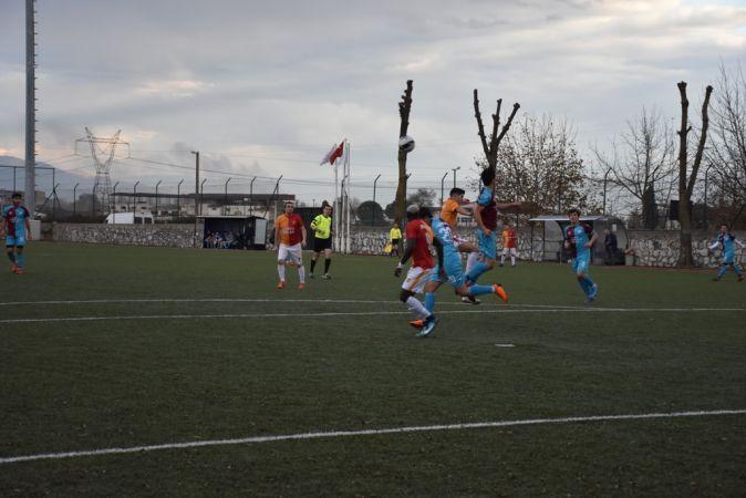 Akova Barışspor haftayı kayıpla kapadı 1-5