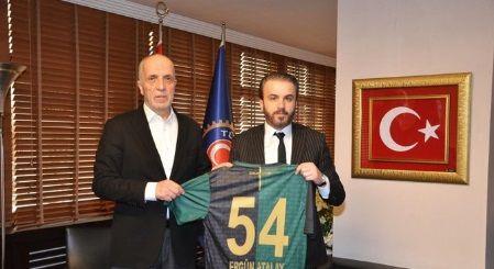 Ankara Demirspor maçının masrafları Ergün Atalay'dan