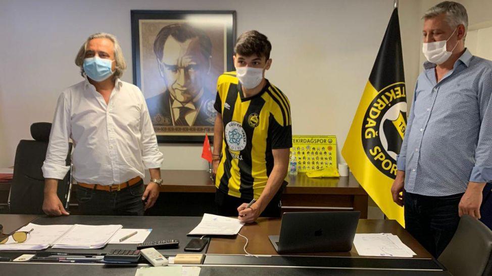 Berkay Caymaz Tekirdağspor'a imza attı