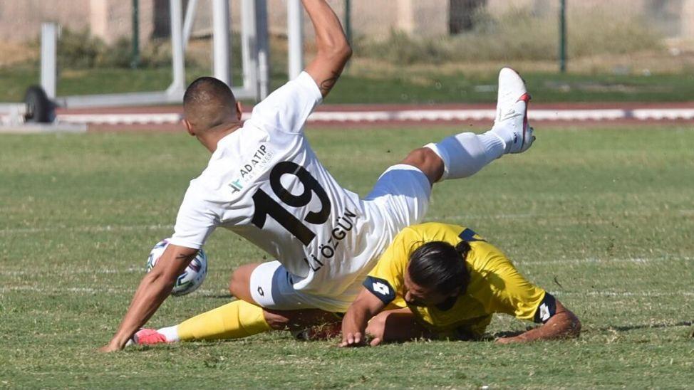 Ve Ali Özgün mesaiye başladı! İlk maç ilk gol!