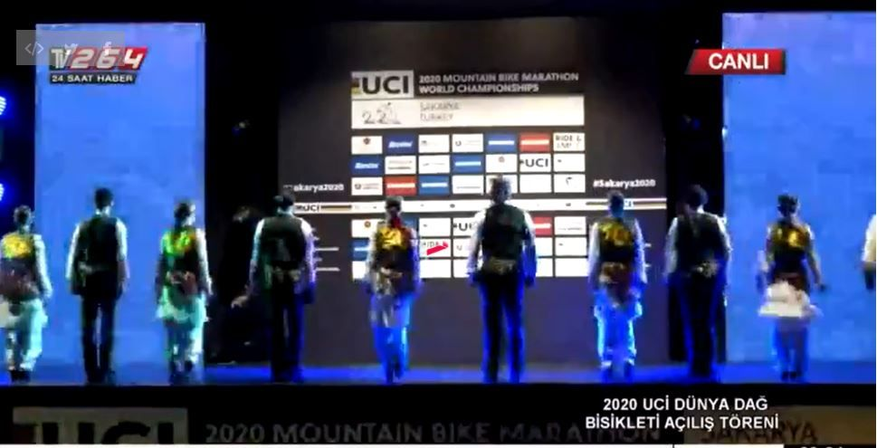 2020 UCİ Dağ Bisikleti açılış töreni CANLI YAYIN