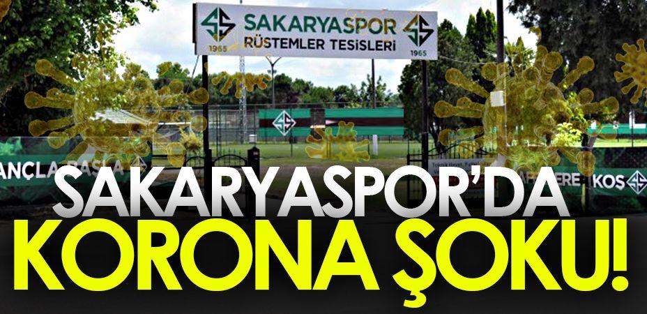 Sakaryaspor'da corona şoku! İki ismin testi pozitif