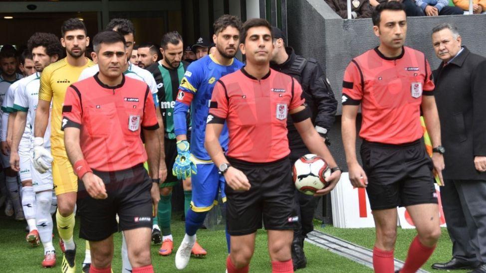 Adanaspor maçına hakem ataması Urfa'dan geldi