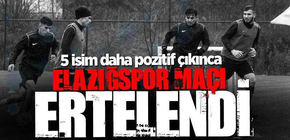 Elazığspor maçı iptal edildi