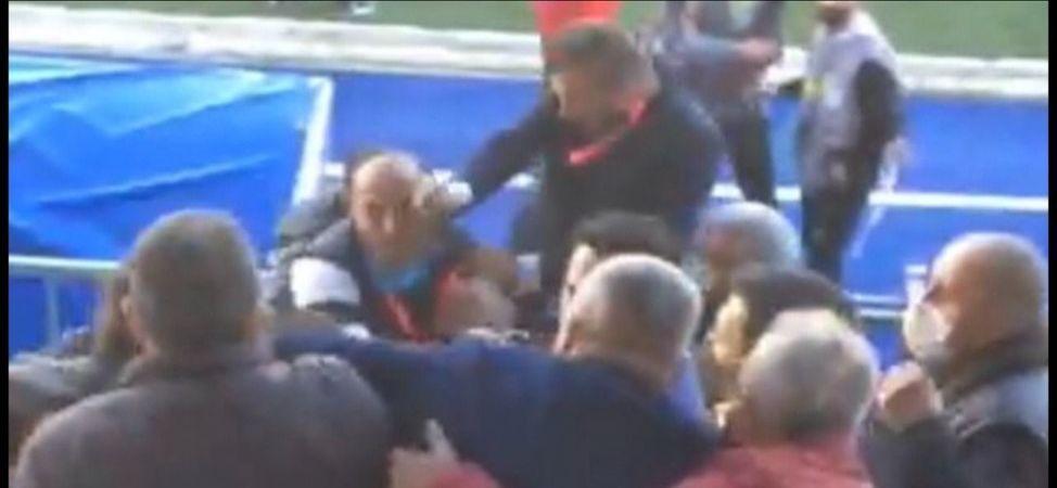 Şeref tribündeki maganda Eyüpspor Başkan vekili çıktı!