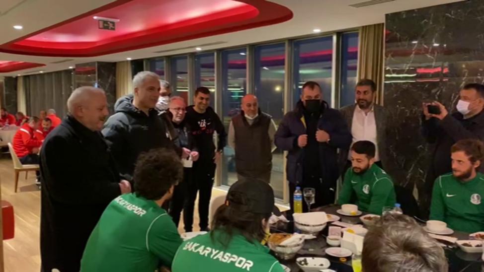 Sakaryaspor'a Babaoğlu jesti