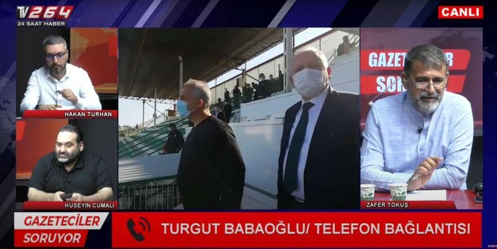 """Babaoğlu, """"Konu benim açımdan kapandı"""""""