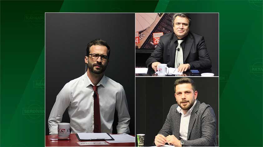 Sakaryaspor kongresi ve Serik maçı Spor264'te konuşacak