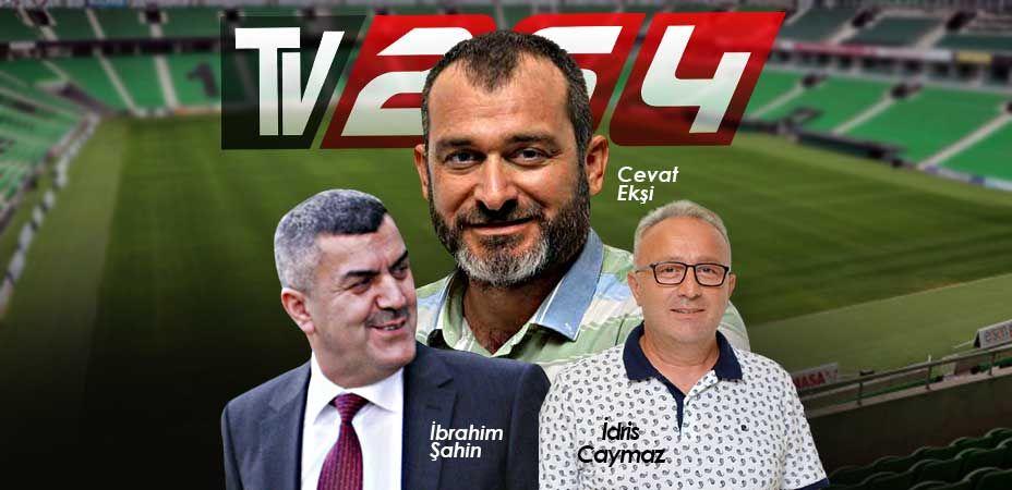 Gazeteciler soracak, Başkan ekşi, yöneticiler Şahin ve Caymaz cevaplayacak