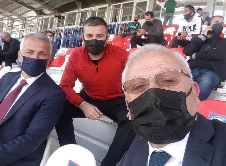 Babaoğlu Sakaryaspor'u yalnız bırakmadı