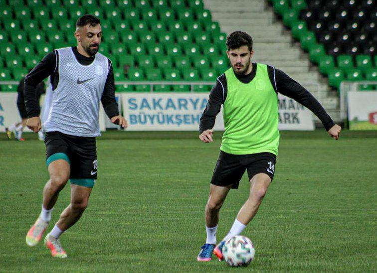 Sakaryaspor Vanspor maçı hazırlıklarını sürdürdü