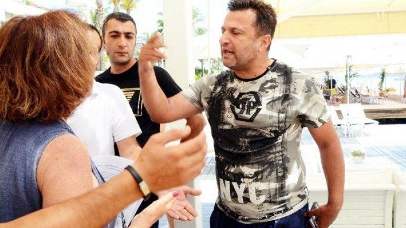 Bodrum'da skandal! Bülent Uygun çevrecilerin üzerine yürüdü