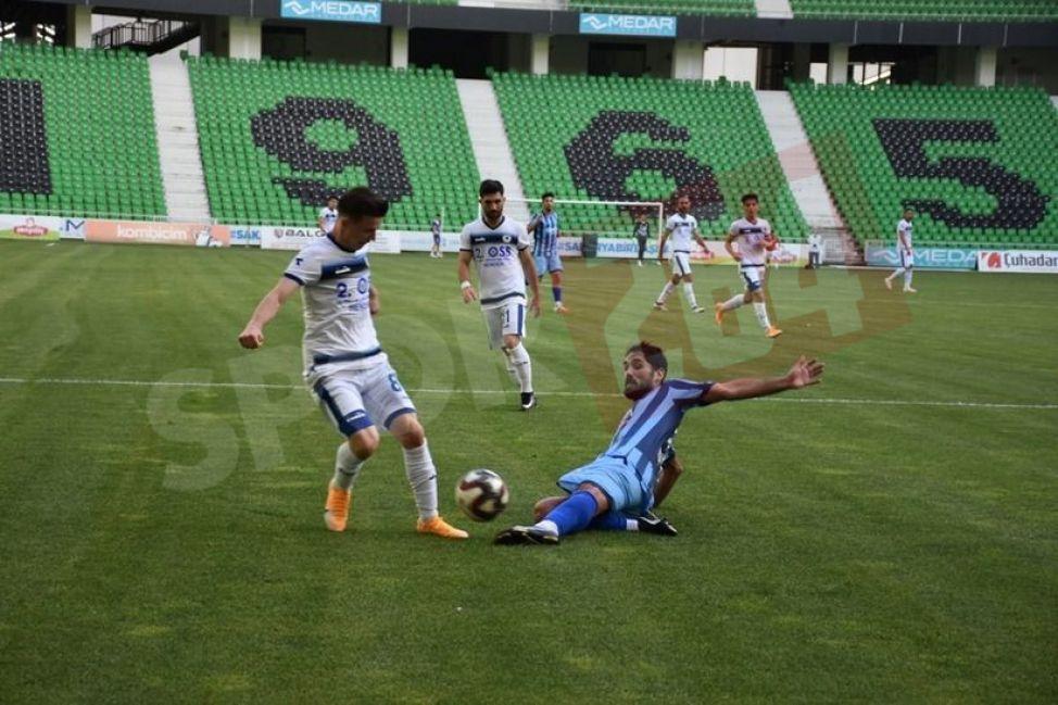 Grubun son maçında Hendekspor Erenler'i mağlup etti