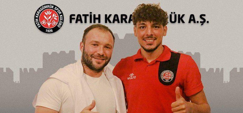 Salih Dursun resmen Fatih Karagümrük'te!.
