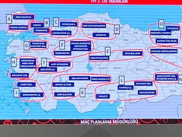TFF 2. Lig ve TFF 3. Lig fikstür çekimi belli oldu!