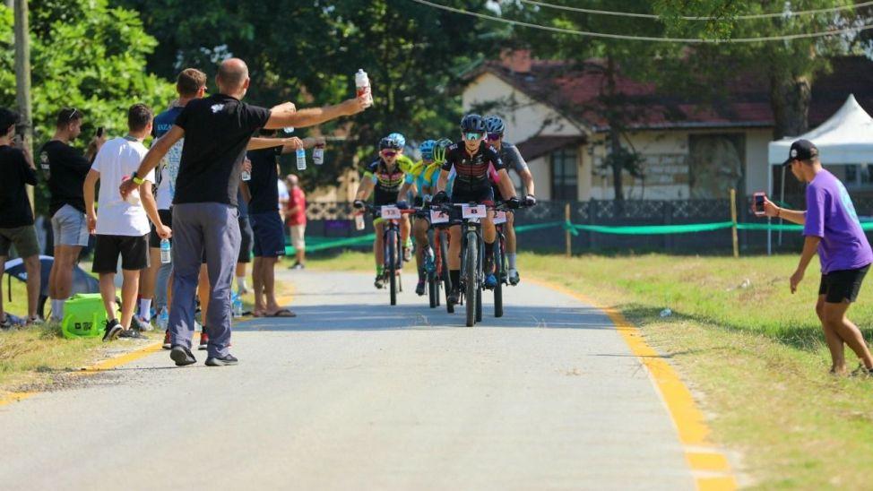 110 kilometrelik MTB Cup Maratonu nefes kesti