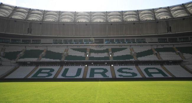 Milli maçlar Sakarya'dan Bursa'ya alındı
