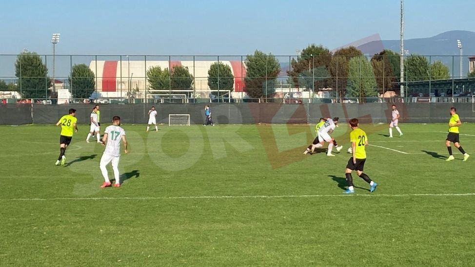 Sakaryaspor'dan hazırlık maçında tek gollü galibiyet