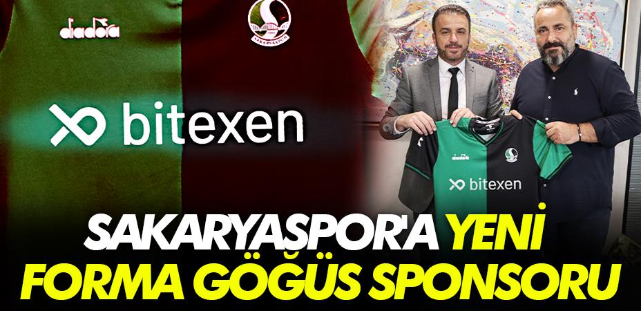 Sakaryaspor'a yeni forma göğüs sponsoru