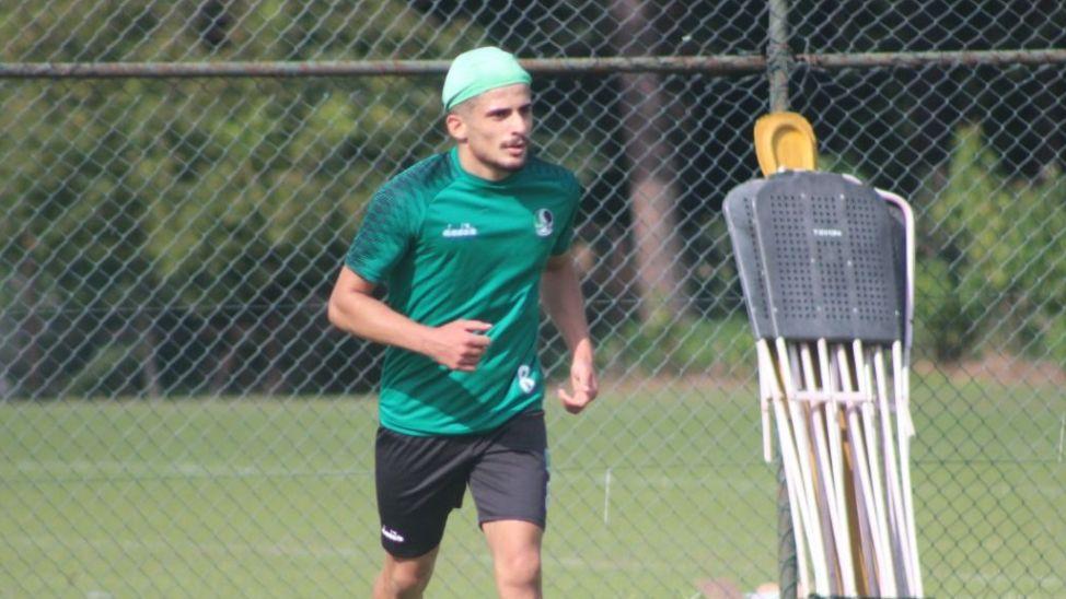 Mehmet Yıldızaç Sakaryaspor'la antrenmana çıktı