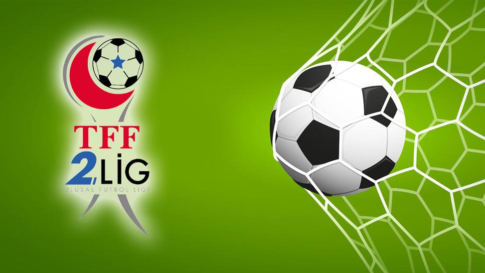 TFF 2. Lig'de bugünün maç programı!