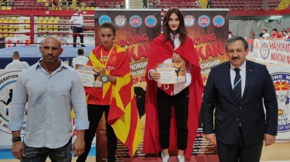 Afra Adıyaman Balkan Şampiyonu Oldu