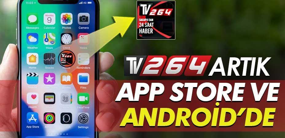 TV264 artık App Store ve Android markette