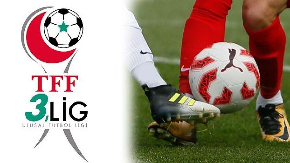 TFF 3. Lig'de 3. haftanın programı belli oldu