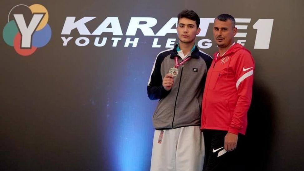 WKF Dünya Gençlik Şampiyonasında Yusuf Eren ikinci oldu!