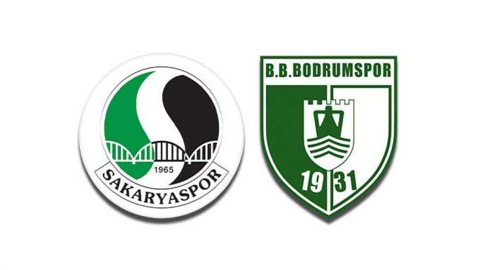 Sakaryaspor - Bodrumspor maçı ne zaman, hangi kanalda, saat kaçta?