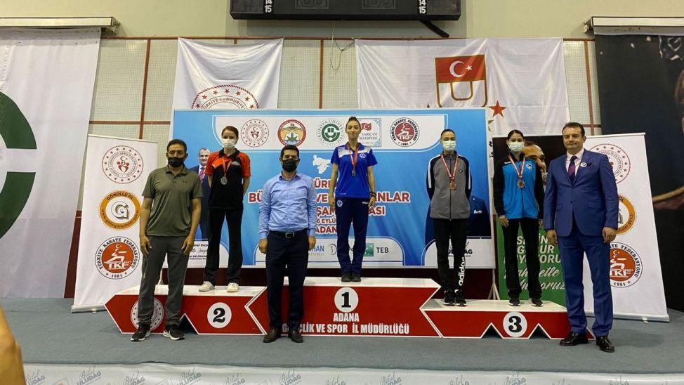 Buse Nemli Türkiye üçüncüsü oldu