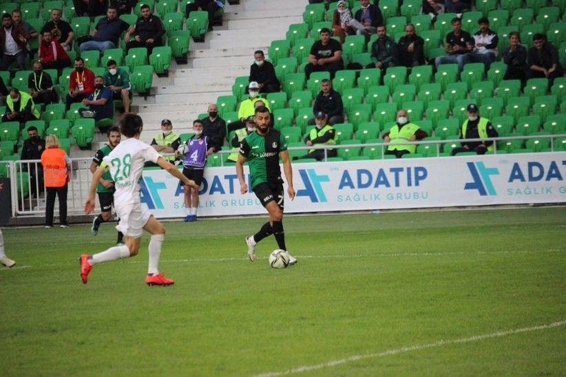 Sakaryaspor Bodrumspor'a maglubiyeti yaşattı:1-0