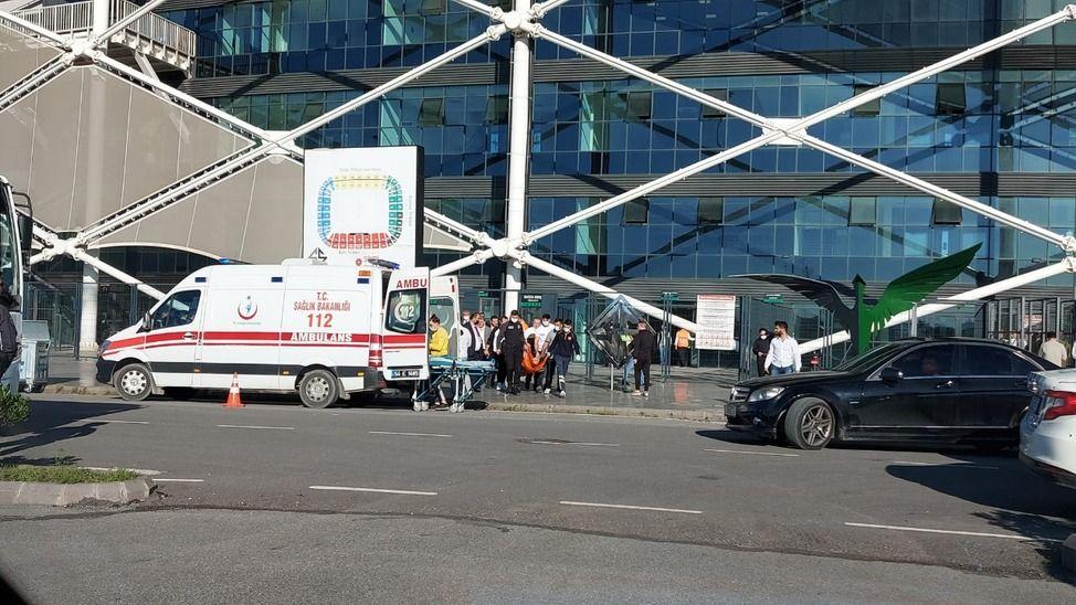 Fenalaşan Bodrumspor yöneticisi hastaneye kaldırıldı