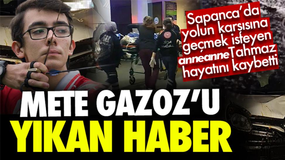 Mete Gazoz'u sarsan ölüm haberi!