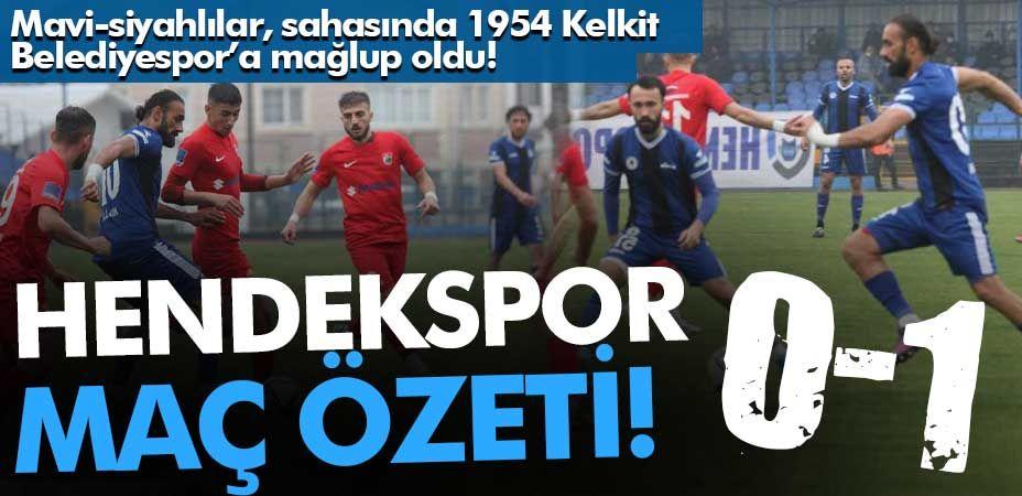 Hendekspor-Kelkit maçının özet görüntüsü!