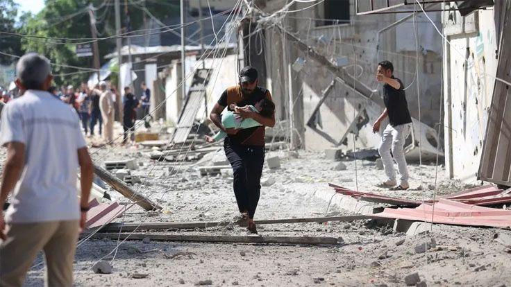 İsrail'in Gazze Saldırılarında Ölenlerin Sayısı 103'e Yükseldi