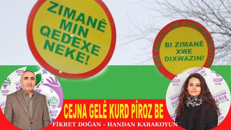 HDP Van Örgütünden Kürt Dili Bayramı Mesajı